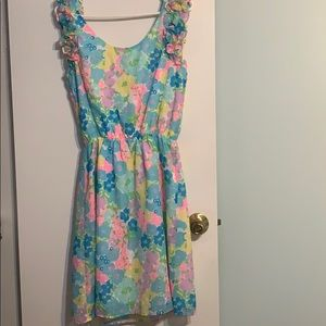 Lilly Pulitzer Spring Floral dress. S